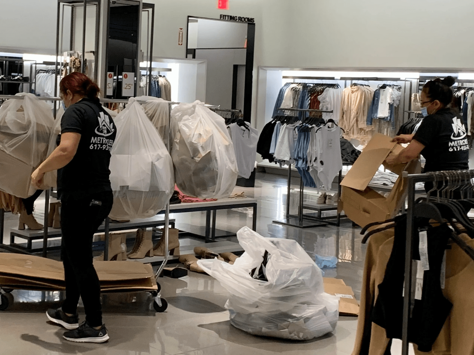 Zara Store Cleaning