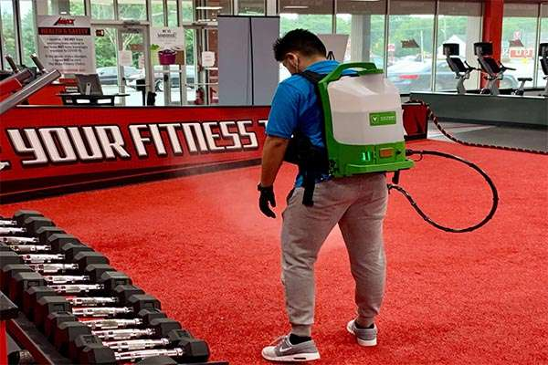 Fitness Club Cleaning Services