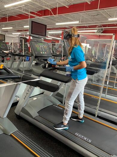 Gyms Cleaning Services