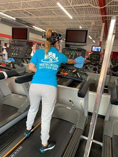 Gym & Fitness club cleaning services